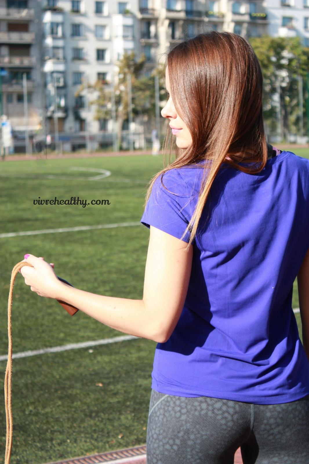 La corde à sauter, un exercice complet